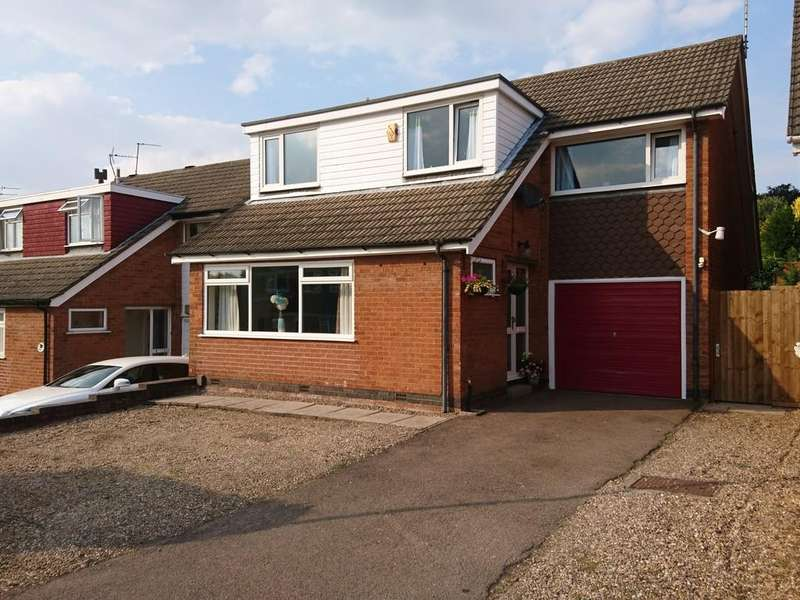 4 Bedrooms Detached House for sale in Belvoir Drive, Loughborough