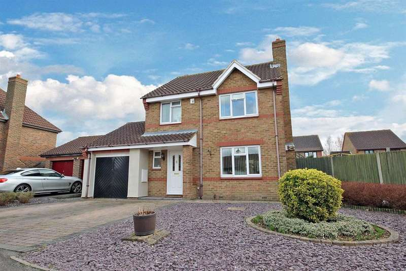 3 Bedrooms Detached House for sale in Glastonbury Abbey, Bedford