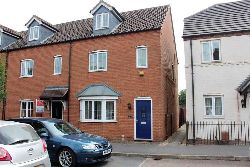3 Bedrooms Semi Detached House for sale in The Mill, Kirton, Boston, PE20