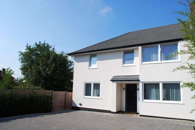 4 Bedrooms Semi Detached House for sale in Elmstead Close, Ewell Court, Epsom