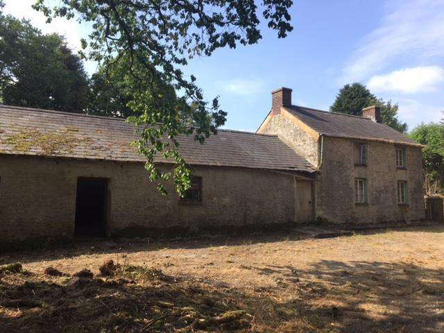 2 Bedrooms Smallholding Commercial for sale in Gorsgoch, Llanybydder