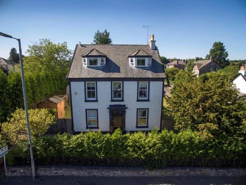 5 Bedrooms Detached House for sale in Gowanlea Lochwinnoch Road, Kilmacolm, PA13 4DY