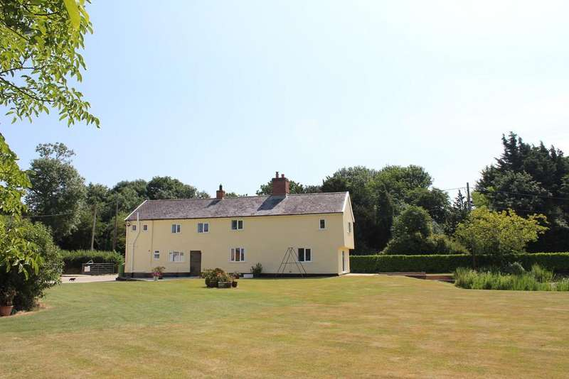 4 Bedrooms Detached House for sale in Poplar Farm, Worlingworth, IP13 7PD