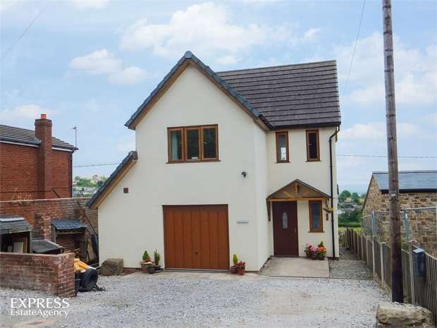 4 Bedrooms Detached House for sale in Wern, Bersham, Wrexham
