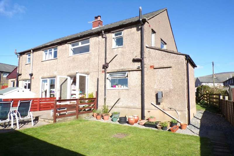 3 Bedrooms Semi Detached House for sale in Summer Hill, Bootle, Millom, LA19