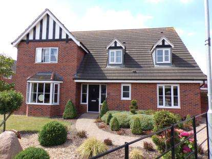 4 Bedrooms Detached House for sale in Bosworth Way, Leicester Forest East, Leicester, Leicestershire