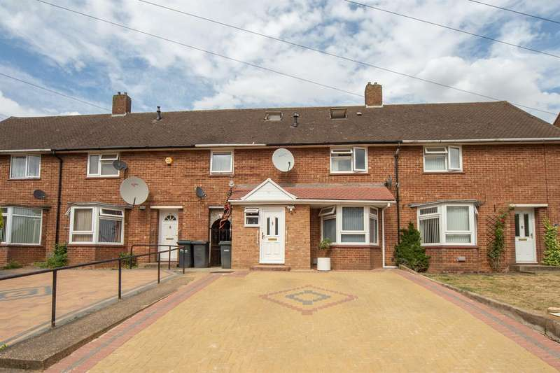4 Bedrooms Terraced House for sale in Whipperley Way, Luton