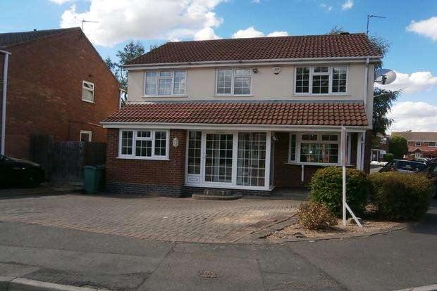 4 Bedrooms Detached House for sale in Hunters Way, Leicester Forest East, Leicester, LE3