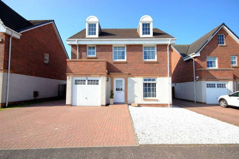 4 Bedrooms Detached House for sale in Provost Crescent, Netherburn