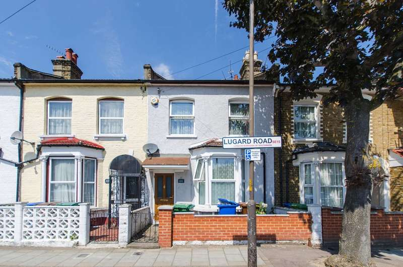 3 Bedrooms Terraced House for sale in Lugard Road, Nunhead, SE15