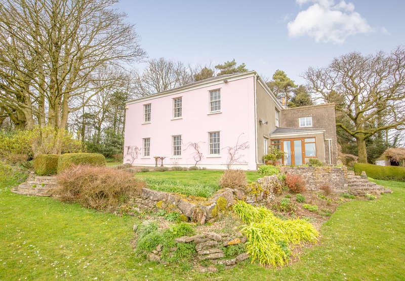 5 Bedrooms Detached House for sale in Masbury, Nr Wells
