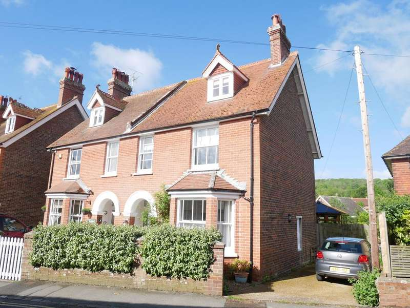 4 Bedrooms Semi Detached House for sale in West Street, Alfriston, East Sussex, BN26