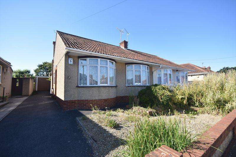 2 Bedrooms Semi Detached Bungalow for sale in Baglyn Avenue, Kingswood