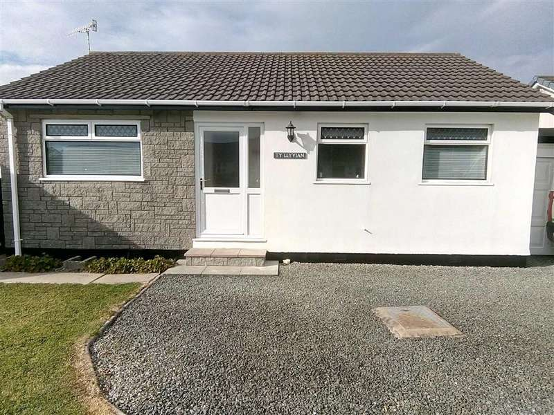 3 Bedrooms Detached Bungalow for sale in 5, Heol Rowen, Fairbourne, Gwynedd, LL38