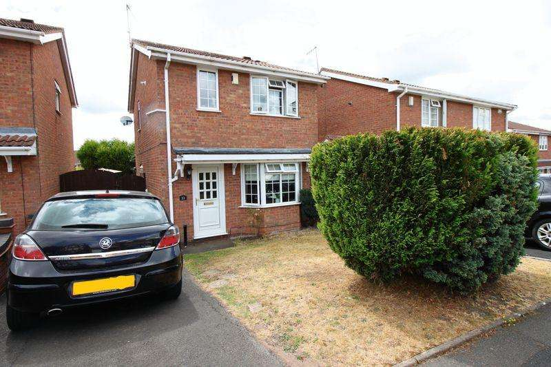 3 Bedrooms Detached House for sale in Bordeaux Close, Dudley, DY1 2UY