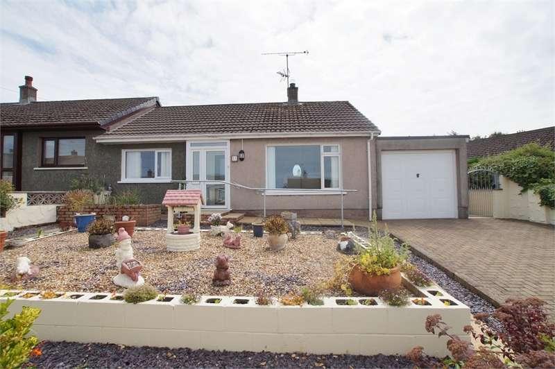2 Bedrooms Semi Detached Bungalow for sale in CA14 4HN Milton Drive, Workington, Cumbria