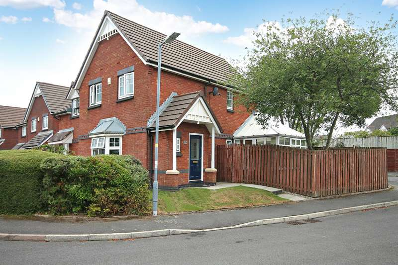 3 Bedrooms Semi Detached House for sale in Ingleby Close, Westhoughton, Bolton, BL5 3QZ