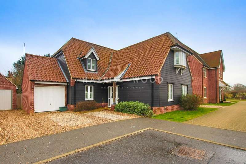 5 Bedrooms Detached House for sale in Jubilee Meadow, Eight Ash Green, Colchester, CO6