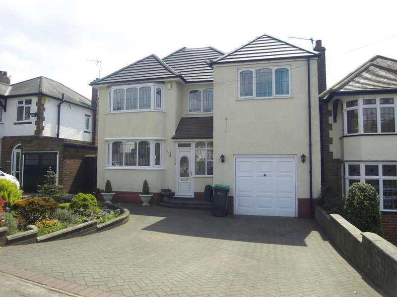 4 Bedrooms Detached House for sale in Oakham Road, Tividale B69