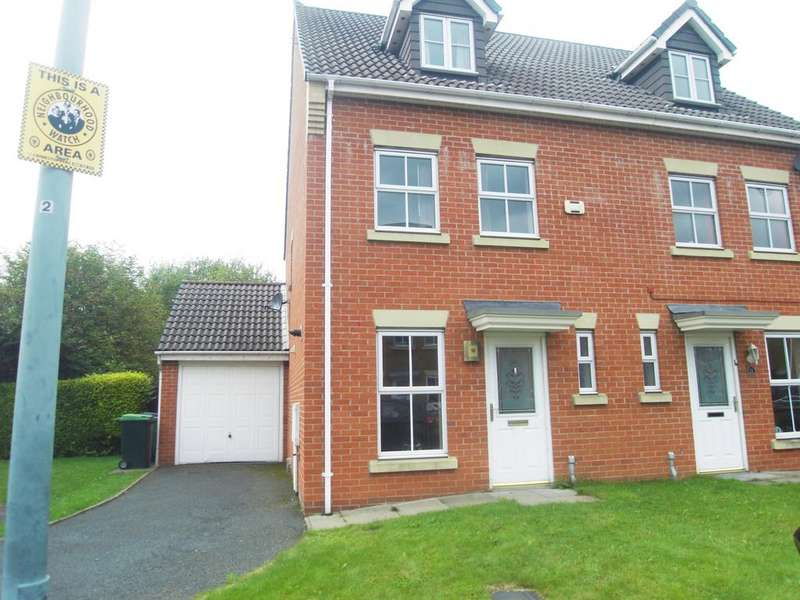 3 Bedrooms Town House for sale in Slater Close, Cradley Heath B64