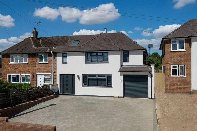 4 Bedrooms Semi Detached House for sale in Piggottshill Lane, Harpenden, Hertfordshire