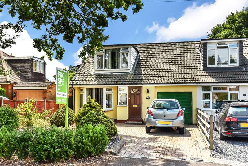 2 Bedrooms Semi Detached House for sale in Hatch Ride, Crowthorne, Berkshire, RG45