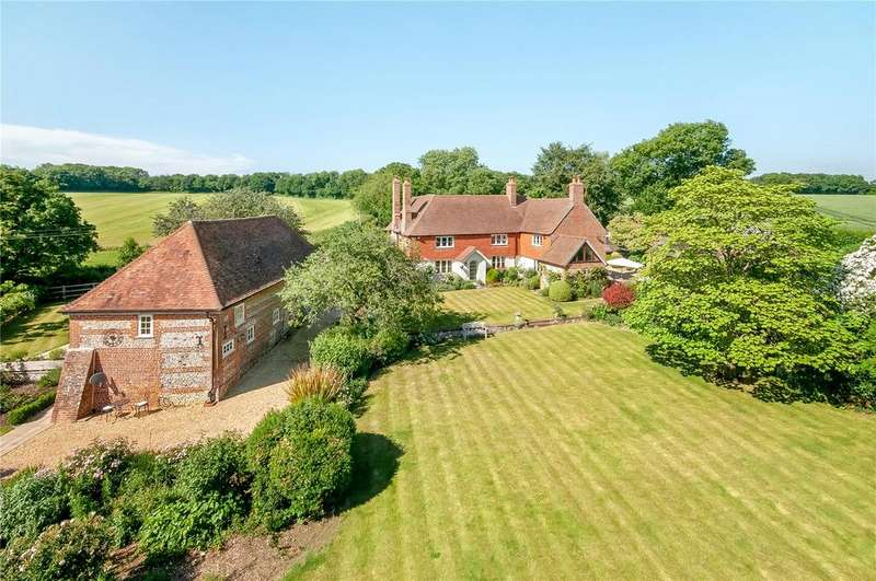5 Bedrooms Detached House for sale in Braishfield, Hampshire, SO51