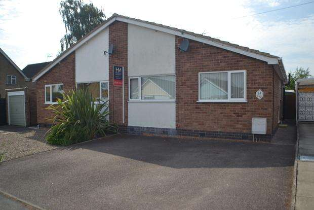 2 Bedrooms Bungalow for sale in Coleman Road, Fleckney, Leicester, LE8