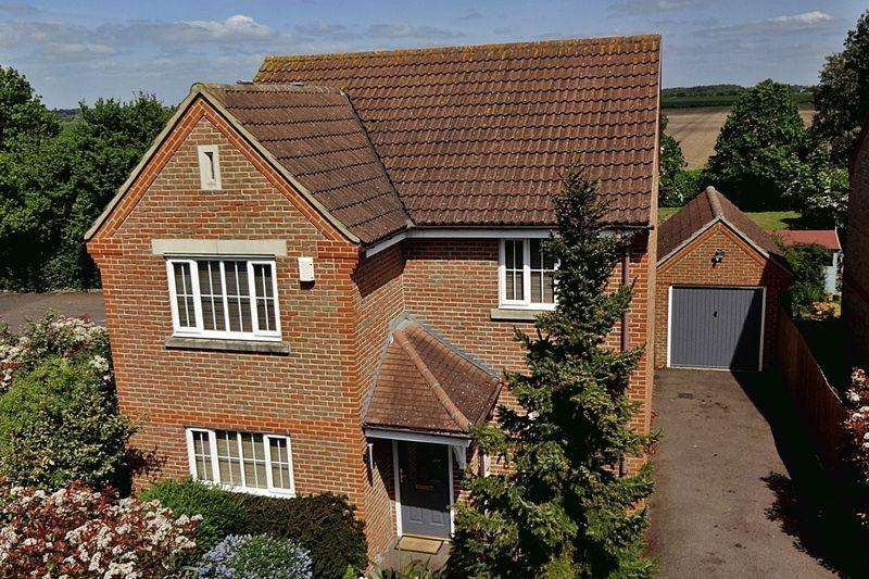 4 Bedrooms Detached House for sale in Pound Close, Upper Caldecote