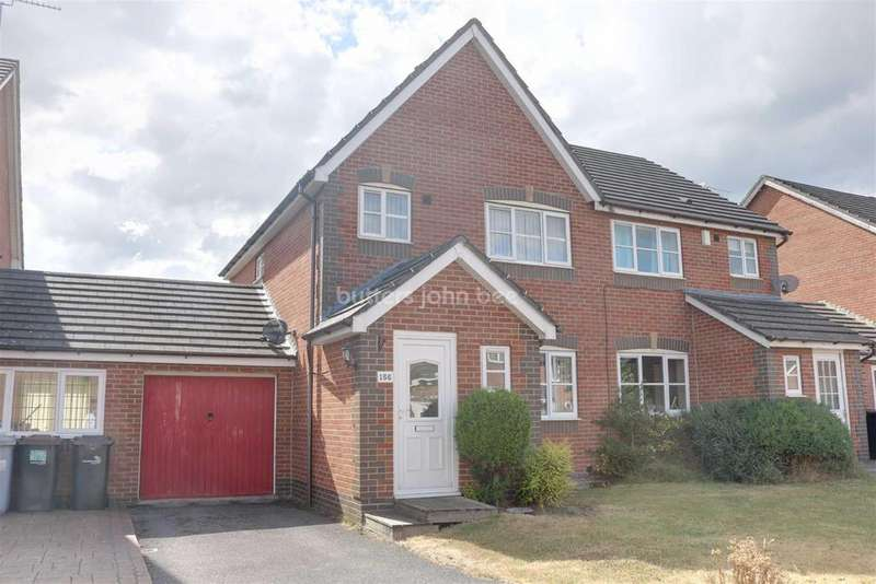 3 Bedrooms Semi Detached House for sale in James Atkinson Way, Crewe