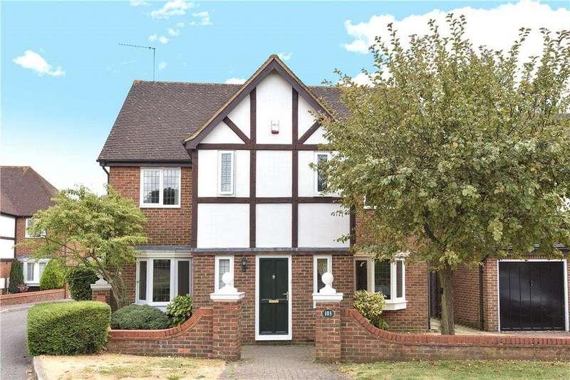 4 Bedrooms Detached House for sale in Walton End, Wavendon Gate, Milton Keynes