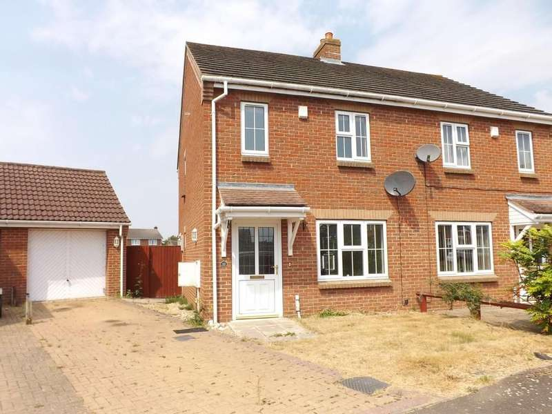 2 Bedrooms Semi Detached House for sale in Strawberry Fields Drive, Holbeach St Marks