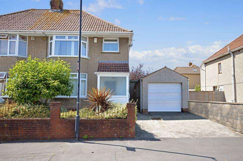 3 Bedrooms Semi Detached House for sale in Gardner Avenue, Uplands, Bristol