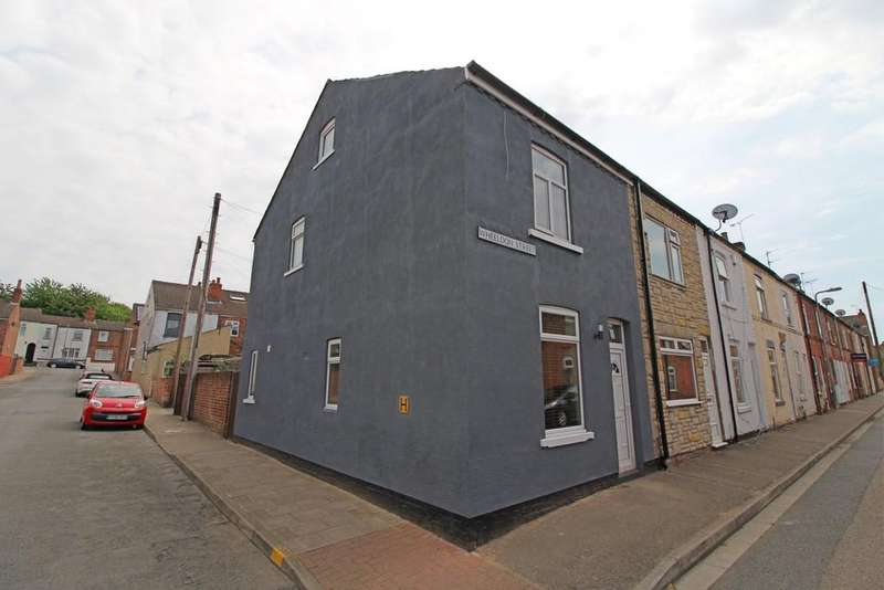 3 Bedrooms End Of Terrace House for sale in Wheeldon Street, Gainsborough