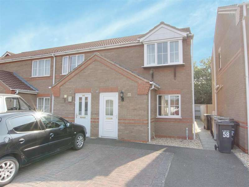 2 Bedrooms Semi Detached House for sale in Winston Drive, Skegness