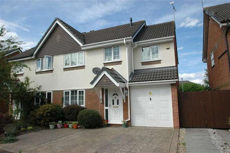 4 Bedrooms Semi Detached House for sale in Melkridge Close, Hoole, Chester