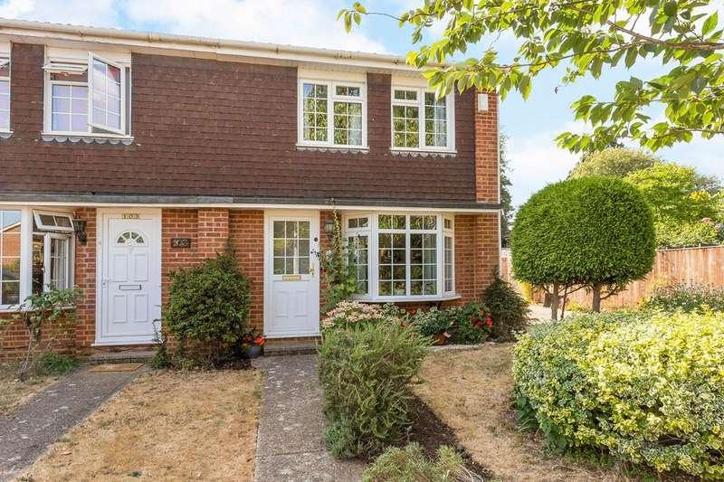 2 Bedrooms Semi Detached House for sale in Beverley Gardens, Furze Platt School catchment, Maidenhead