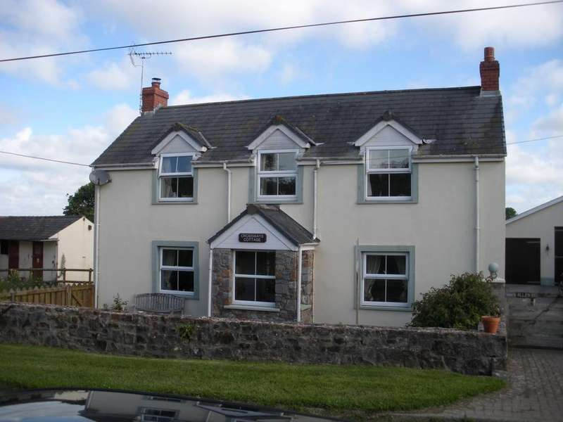 4 Bedrooms Detached House for sale in Cresselly PEMBROKESHIRE