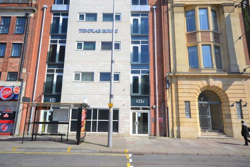 1 Bedroom Flat for sale in Templar House, 122a Charles Street LE1