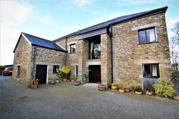 4 Bedrooms Detached House for sale in Blackadon Farm, Horningtops, Liskeard, Cornwall