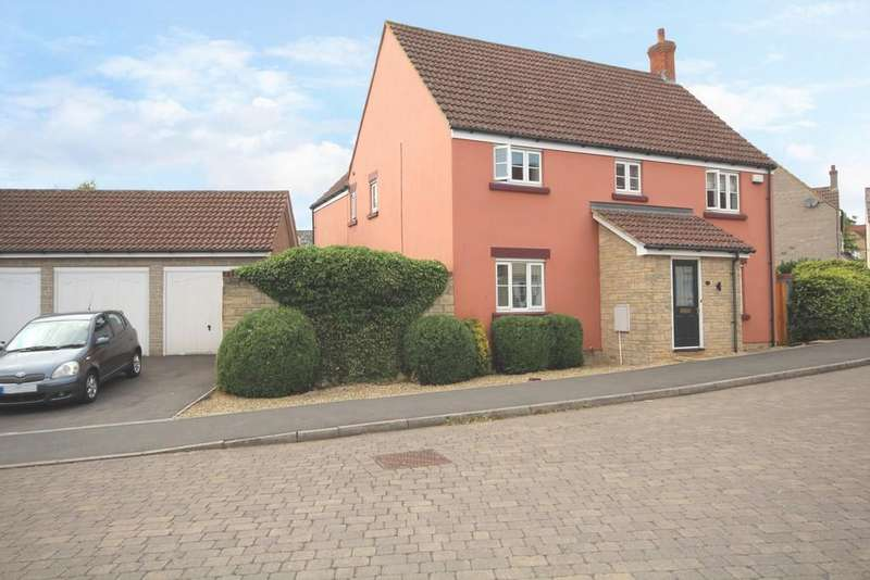 4 Bedrooms Detached House for sale in Walton Crescent, Winford