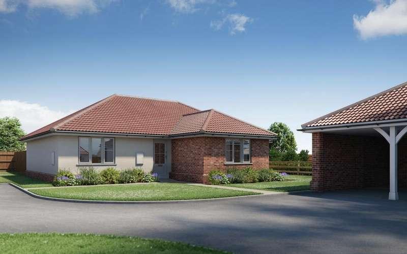 3 Bedrooms Detached Bungalow for sale in Plot 6 Warren Meadows