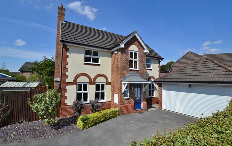 4 Bedrooms Detached House for sale in Hawthorn Villas, Holmes Chapel