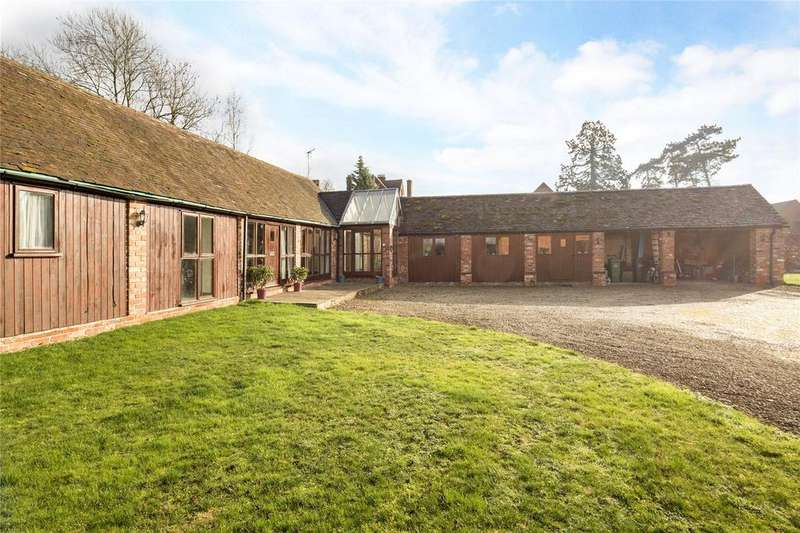 3 Bedrooms Barn Conversion Character Property for sale in Pershore Road, Stoulton, Worcestershire