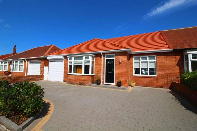 4 Bedrooms Semi Detached Bungalow for sale in Millview Drive, Tynemouth