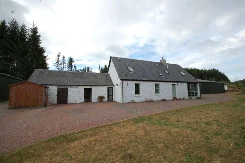 4 Bedrooms Detached House for sale in Tweedhopefoot Cottage, Tweedsmuir, Biggar, Scottish Borders, ML12