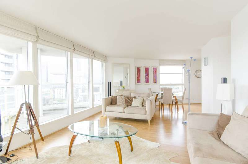 2 Bedrooms Flat for sale in Aurora Building, Isle Of Dogs, E14
