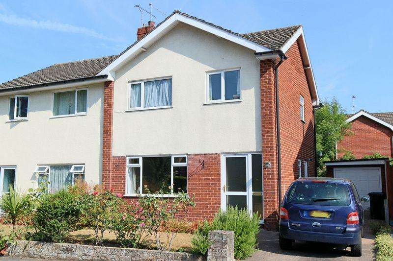 3 Bedrooms Semi Detached House for sale in Sycamore Close, Nantwich