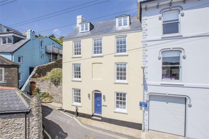 4 Bedrooms Semi Detached House for sale in Clarence Street, Dartmouth, Devon, TQ6