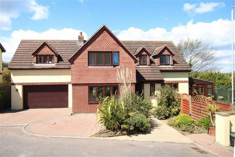4 Bedrooms Detached House for sale in Gramercy Fields, Southdown Hill, Brixham, TQ5